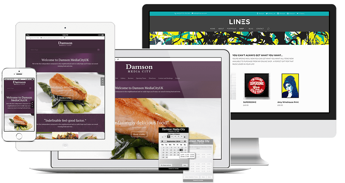 sites web responsive design