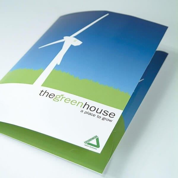 presentation folder brochure
