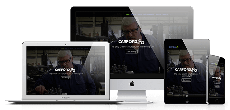 web design birmingham carford responsive website