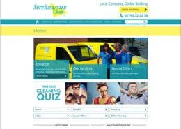 Servicemaster Swansea Website Design