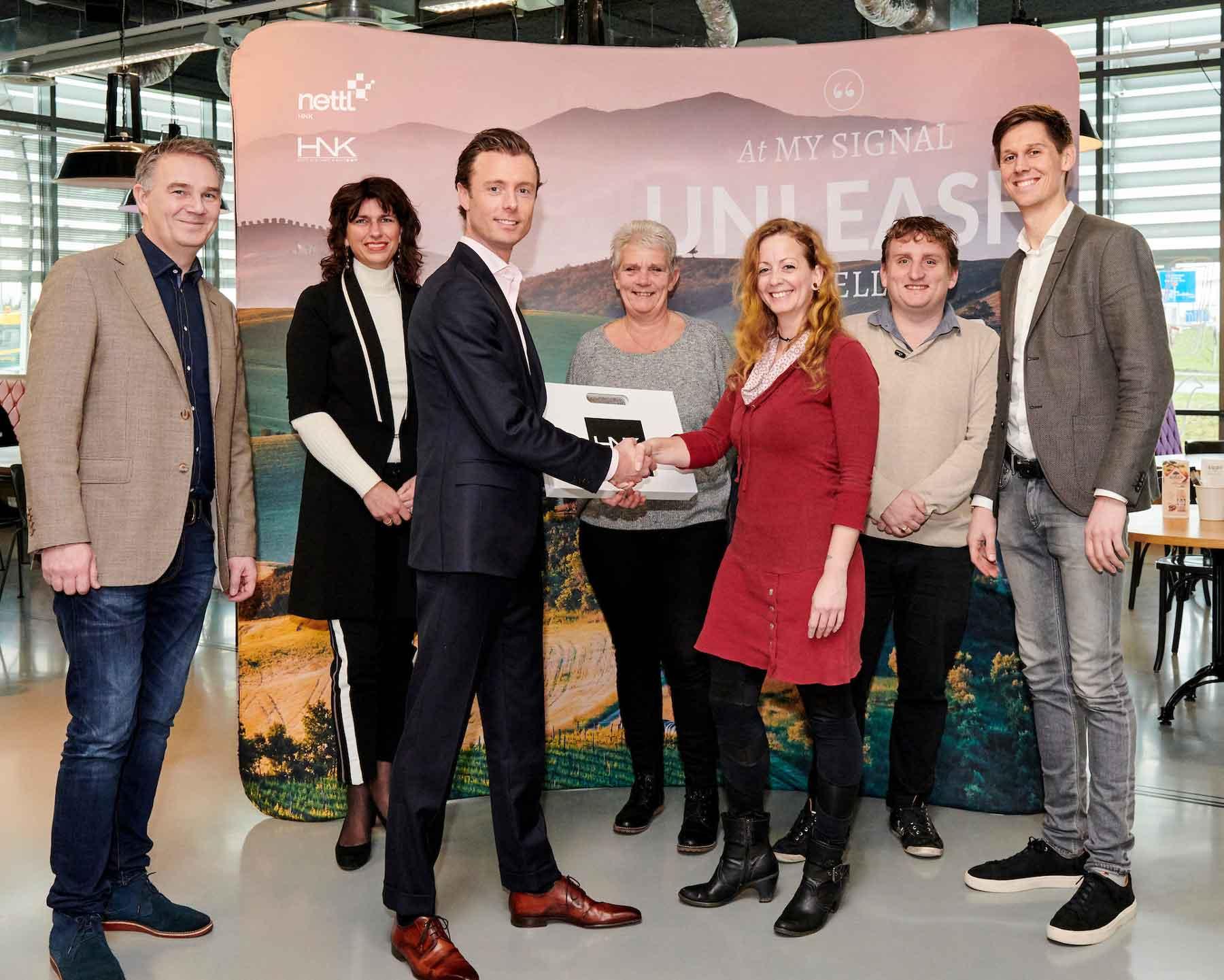 Nettl Den Haag en HNK partnership