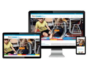 Website voor Eerste Montessori School Nederland Den Haag