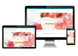 Webdesign huidverzorging en cosmetica