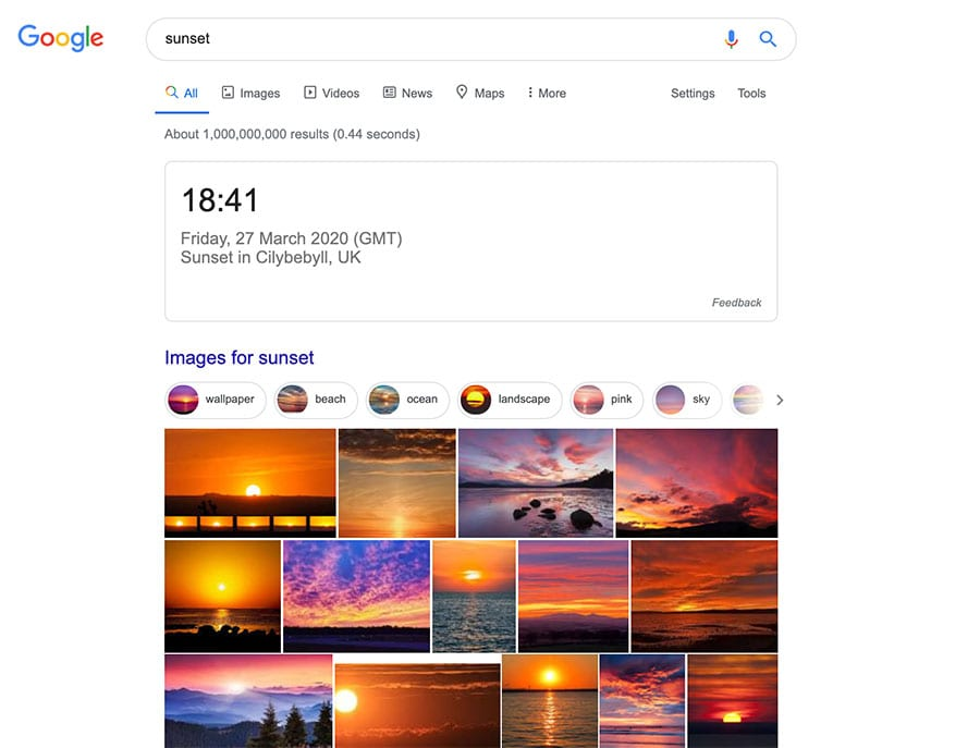 image results