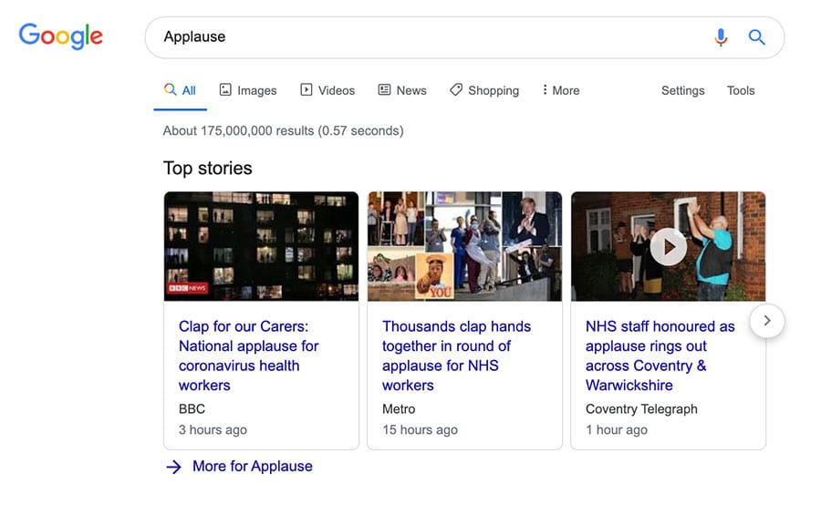 top stories use