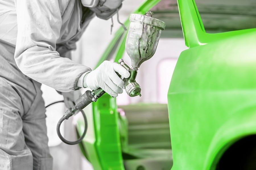 green car paint green 900
