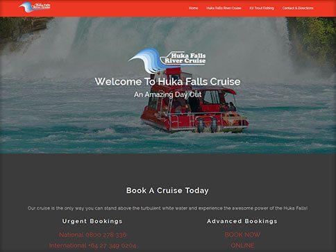 Huka Falls Website