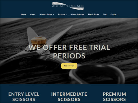 A sharper blade website