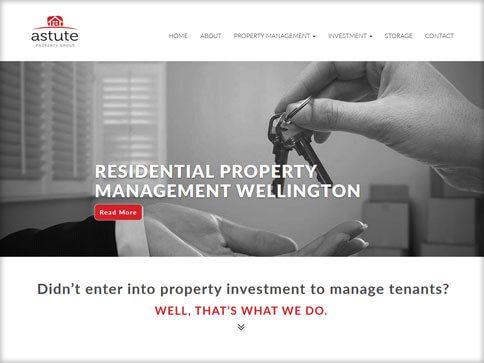 Astute Property Group Website