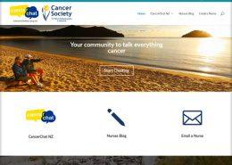 Cnacer Chat NZ website