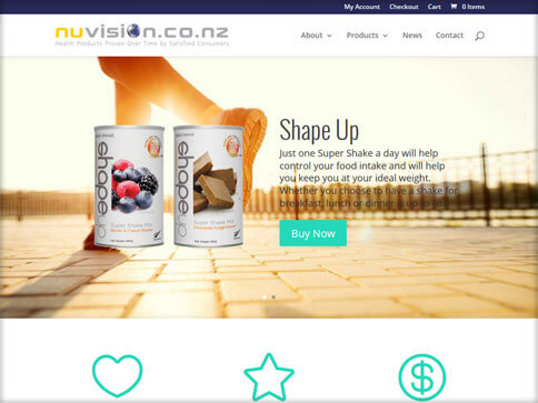 Nuvivion Website
