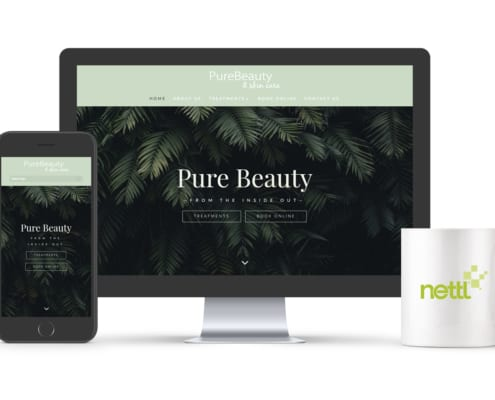 Pure Beauty Website