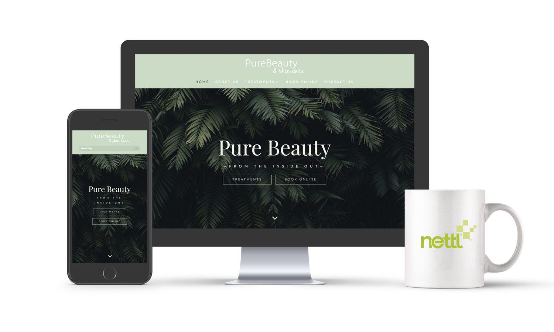 Pure Beauty Website
