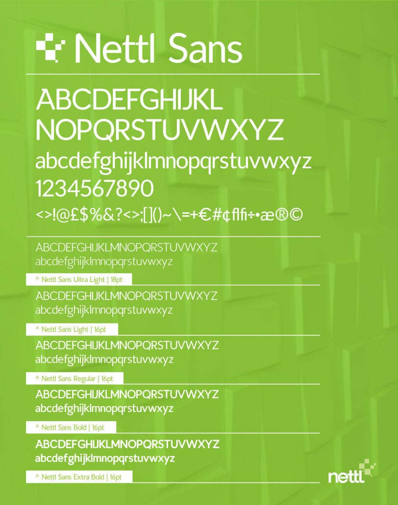 Free Font Friday - Nettl Sans