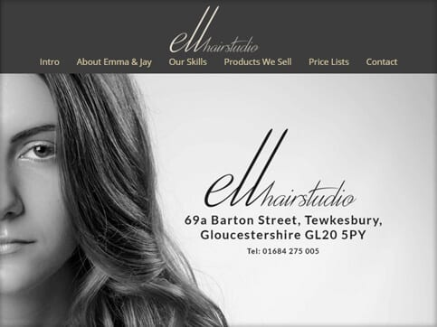 Ell-Hair-Studio-Homepage