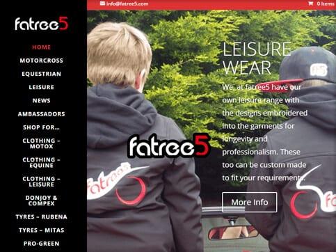Fatree5-Homepage