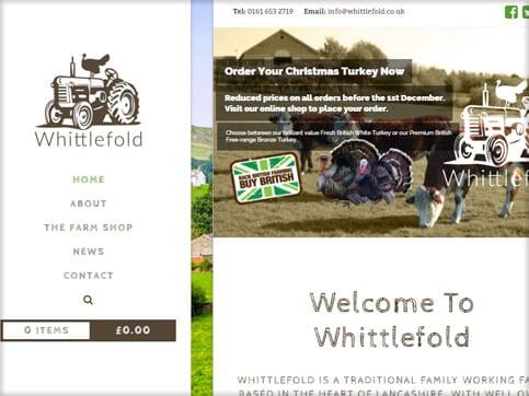 Whittlefold-Homepage