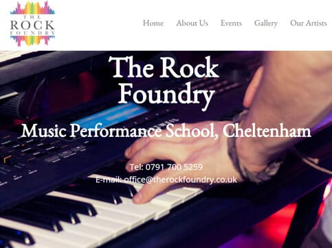 The-Rock-Foundry-Home-Page