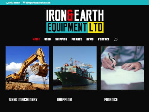 Iron-And-Earth-Home-Page