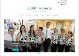 Judith Roberts Opticians Mumbles Swansea Web Design