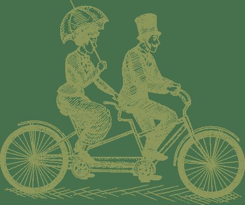 tandem illustration