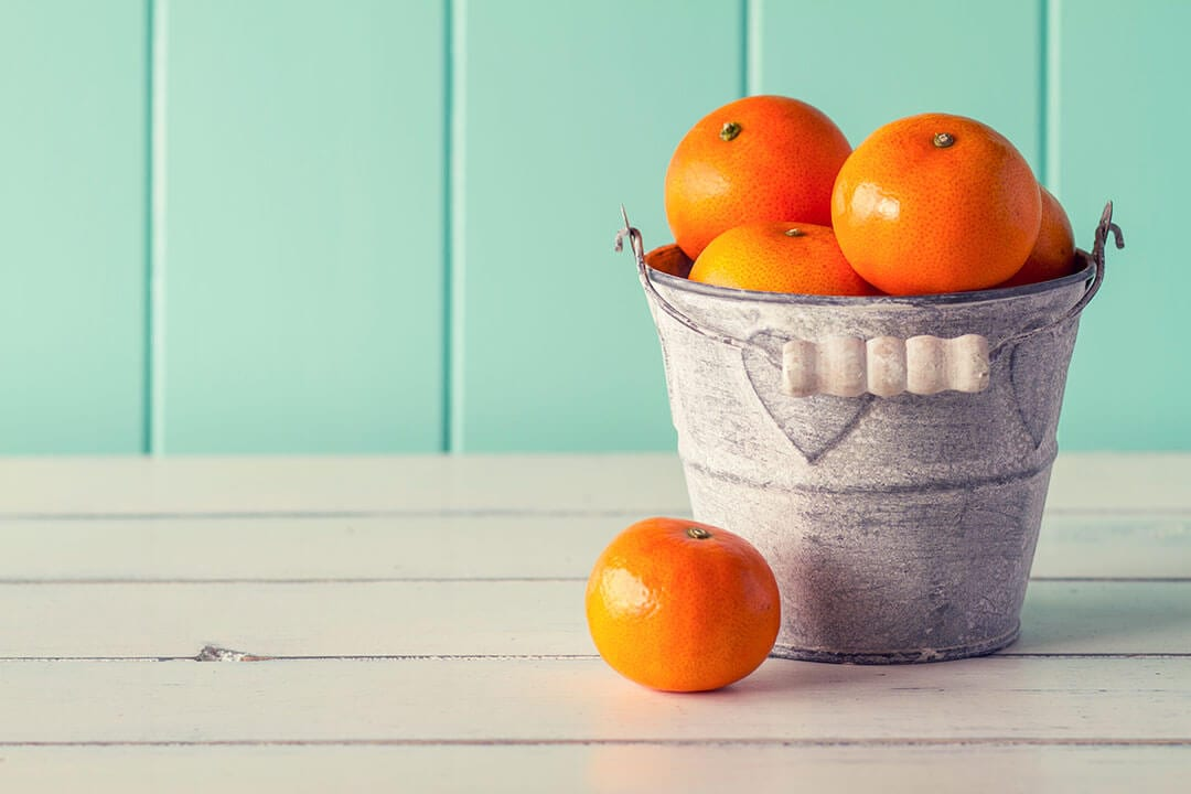 oranges to reflect fresh content