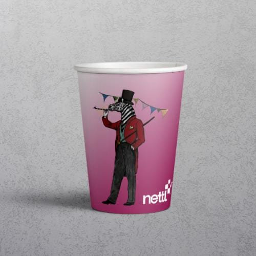 branded paper cup