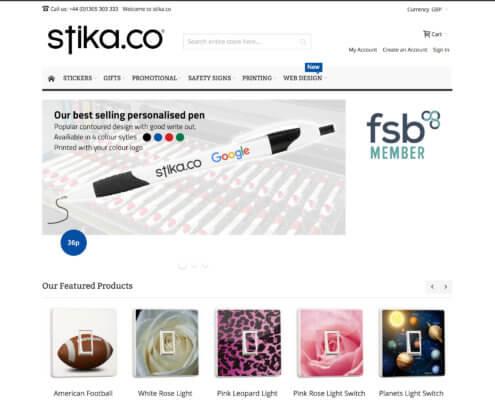 stika.co Magento 2 Shop