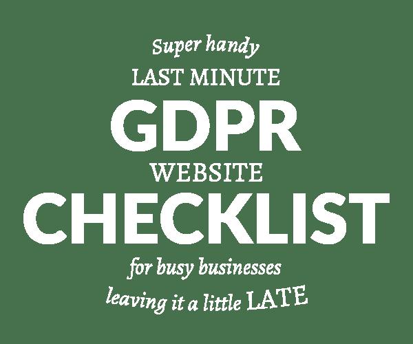 gdpr checklist badge