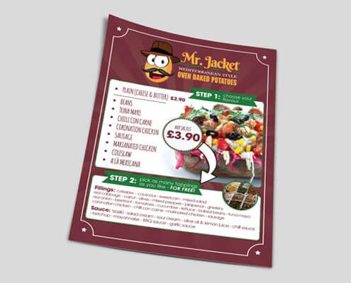 Mr Jacket Flyers