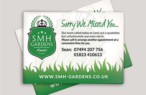 SMH Gardens Calling Card