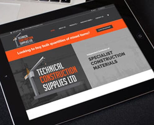 Tech Con Supplies Website