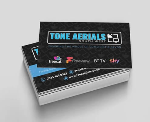 Tone Aerials Business Cards