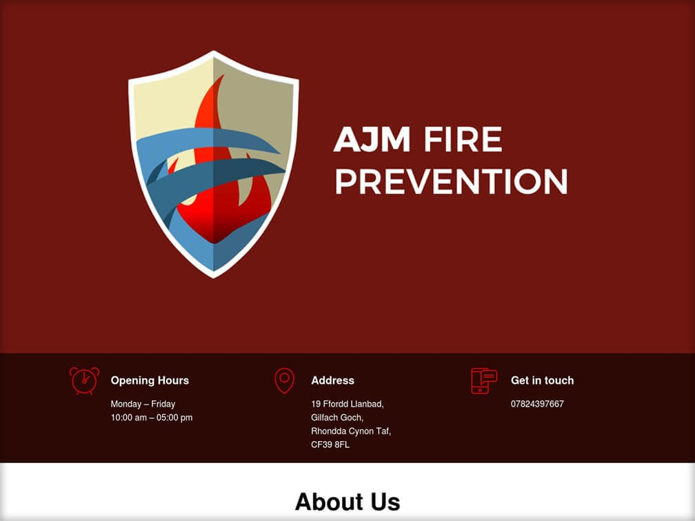 ajm fire website