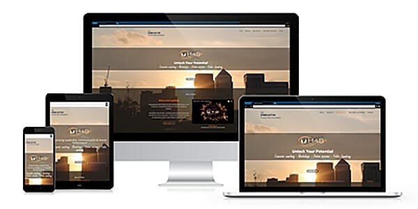 H4S Coaching responsive website image