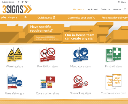 3 Signs Website