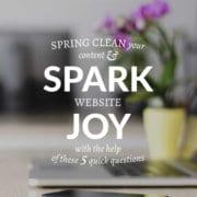 Spark Joy Tile