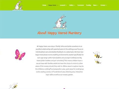 Happy Hares About Portfolio
