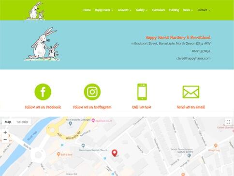 Happy Hares Contact Portfolio