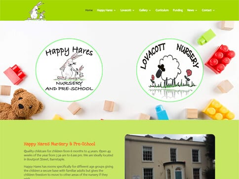 Happy Hares Portfolio
