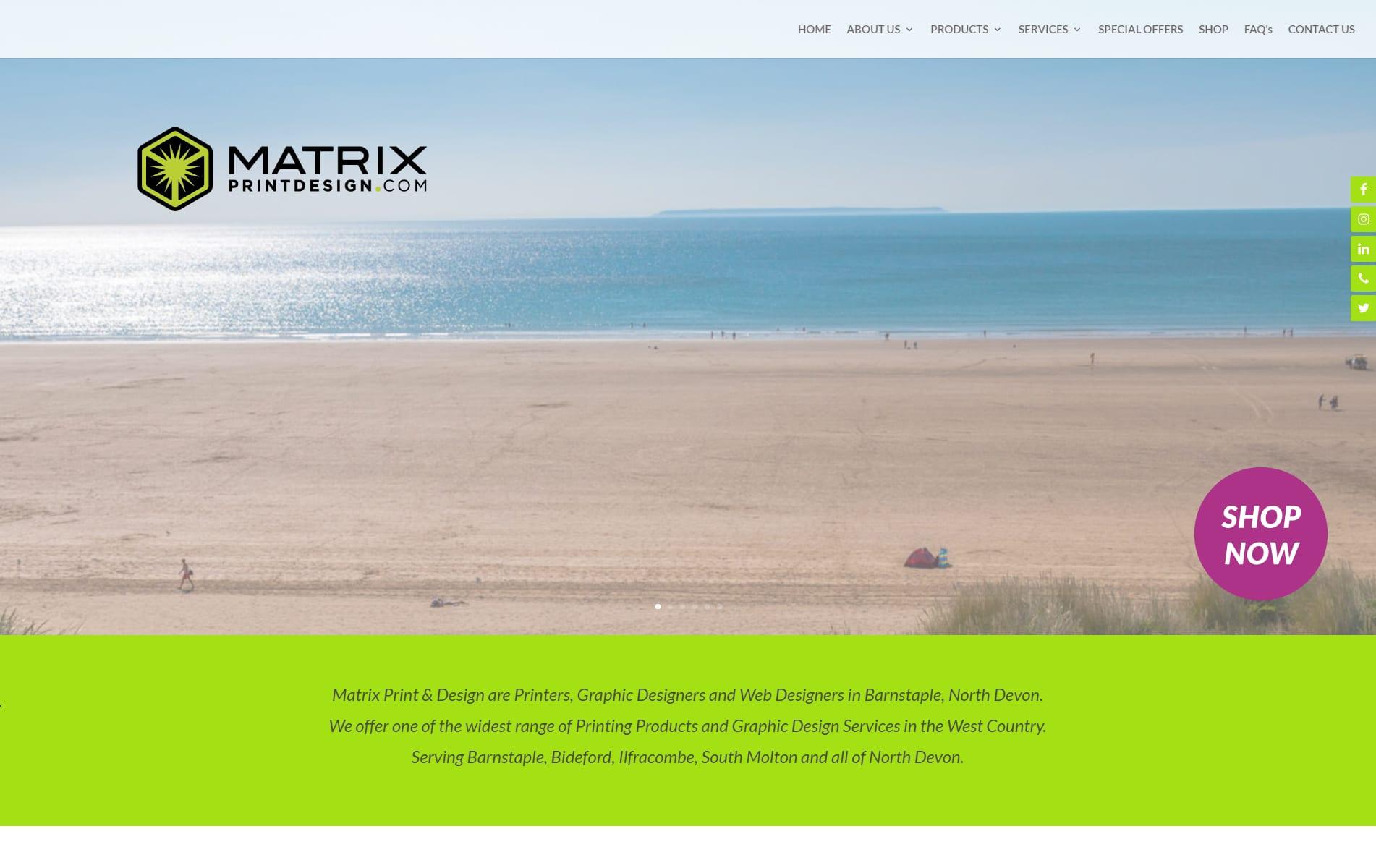 MATRIX-HOME-PORTFOLIO