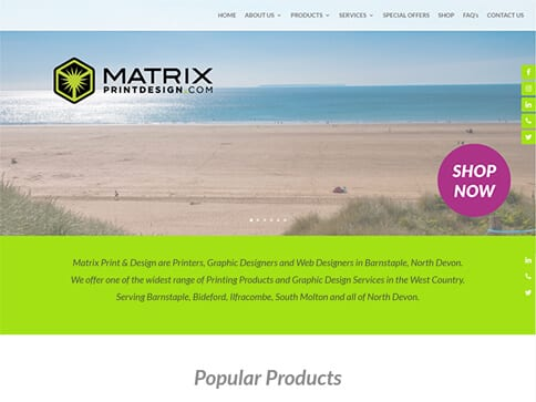 Matrix Print and Design : nettl com