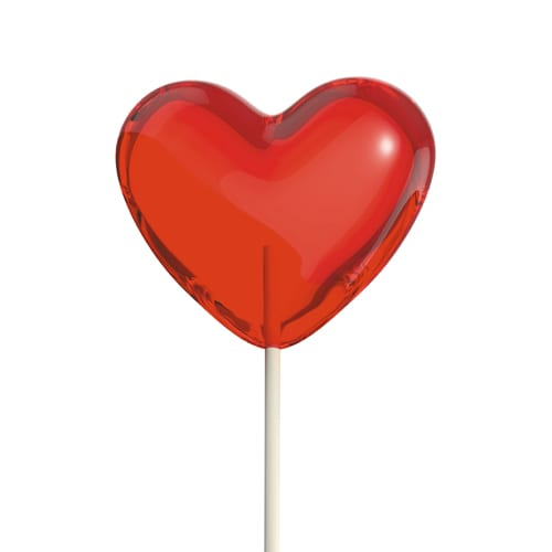 Heart Lolly