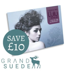 Grand Suede Showcard