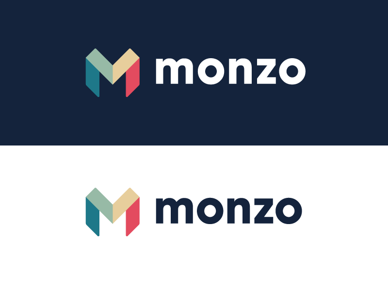 monzo logo branding
