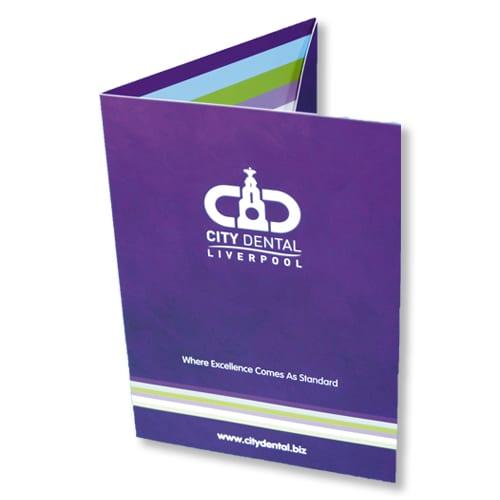 a5 presentation folders