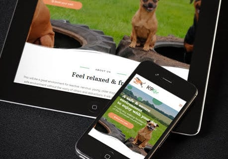 Responsive-Dog-Walking-website-for-K9-Rec