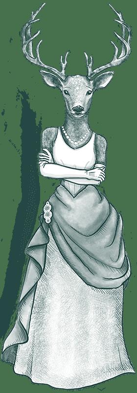 Stag-Lady-Dress