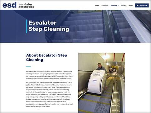 escalator cleaning company
