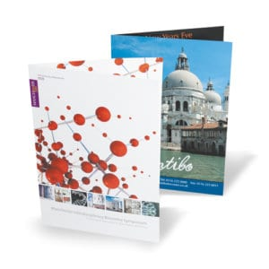 Gloss Folded Leaflets